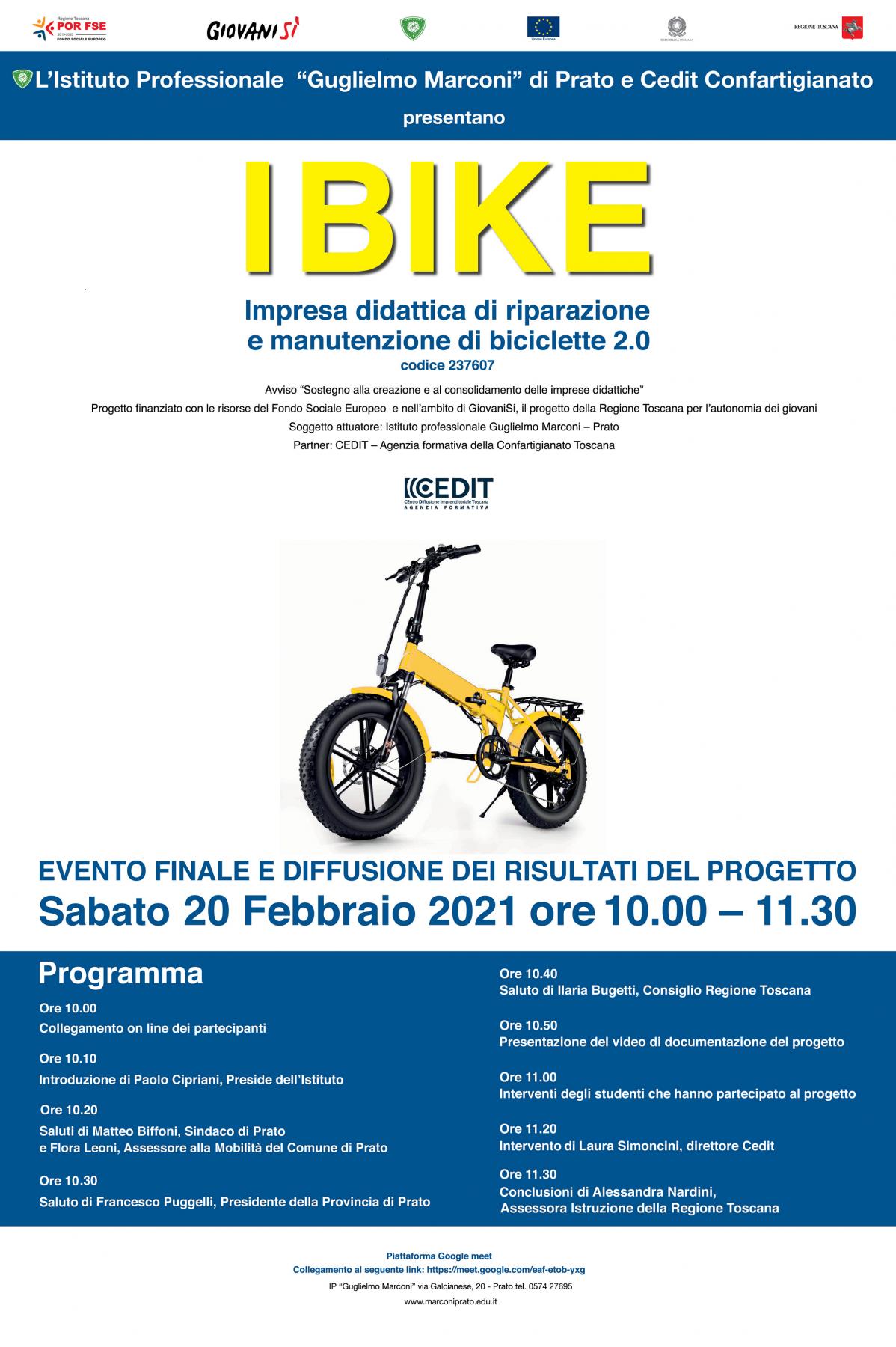 Evento I Bike – Istituto Marconi